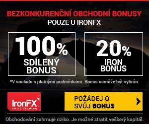 Broker IronFXlive účet